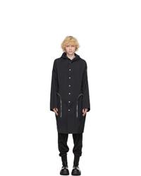 Rick Owens Black Moncler Edition Nesbitt Coat