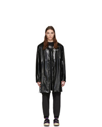 Palm Angels Black Palm X Palm Raincoat