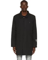 Ksubi Black Poplin Dollar Coat