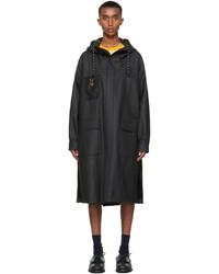 Fendi Black Rain Coat