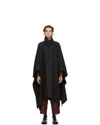 Issey Miyake Men Black Washi Sashiko Coat