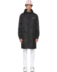 Valentino Black White Garden Coat