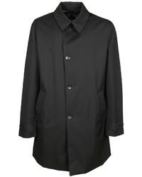 Armani Collezioni Button Fastening Raincoat