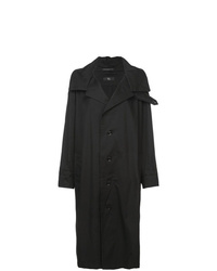 Y's Buttoned Rain Coat