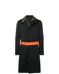 Alexander McQueen Contrasting Raincoat