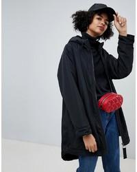 ASOS DESIGN Faux Fur Lined Rainwear