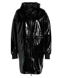 Sosken Greta Faux Patent Leather Raincoat
