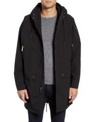 KARL LAGERFELD PARIS Karl Lagerfeld Oversize Fleece Lined 3 In 1 Anorak