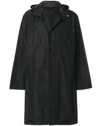 Prada Long Hooded Raincoat