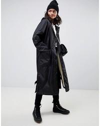 ASOS DESIGN Maxi Borg Lined Rainwear