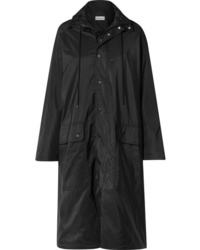 Balenciaga Opera Oversized Printed Reflective Shell Raincoat