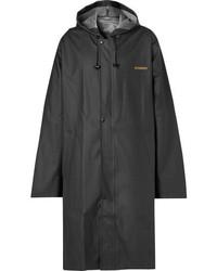 Vetements Oversized Printed Vinyl Raincoat