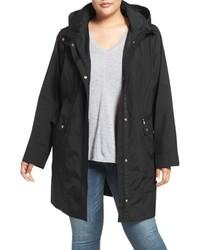Plus Size Cole Haan Water Resistant Rain Jacket