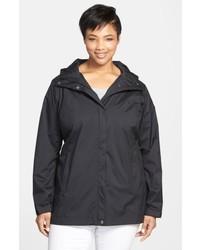 Columbia Plus Size Splash A Little Modern Classic Fit Waterproof Rain Jacket