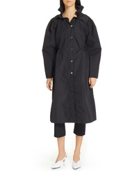 Opening Ceremony Ruffle Collar Raincoat