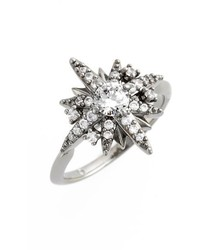 Cubic zirconia ring medium 834660