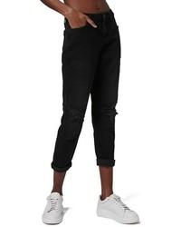 Petite lucas ripped boyfriend jeans medium 1316430