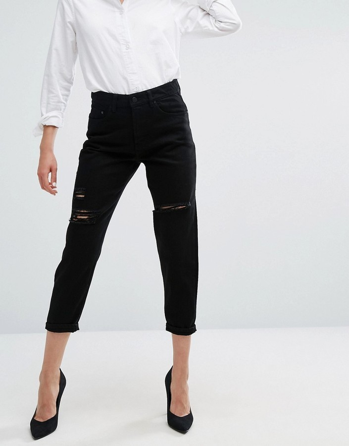 WÅVEN Waven Aki Boyfriend Jeans With Rips | Where to buy & how to wear