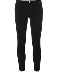 Frame Denim Le Color Ripped Skinny Jeans