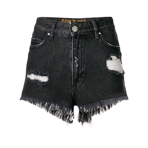 Don't Cry Frayed Hem Shorts