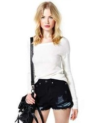 Nasty Gal Updated Wreck Shredded Cutoffs