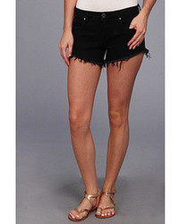 Blank NYC Solid Gold Cut Off Short In Black