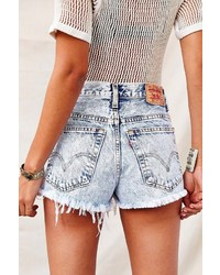 UO Urban Renewal Super Fringe Denim Cheeky Short | Where to buy ...