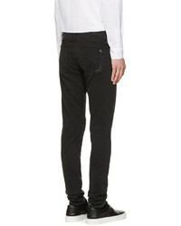 rag & bone Black Destroyed Fit 1 Skinny Jeans | Where to buy & how ...
