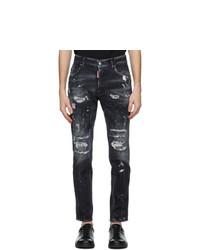 DSQUARED2 Black Skater Jeans