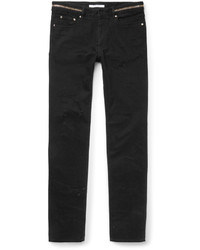 Givenchy Cuban Fit Distressed Denim Jeans