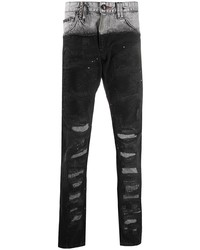 Philipp Plein Denim Loose Fit Jeans
