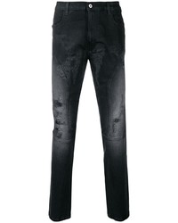 Faith Connexion Distressed Faded Jeans