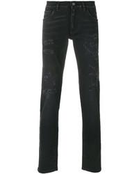 Distressed slim fit jeans medium 4978393