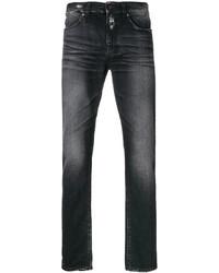 Distressed trim slim fit jeans medium 5274979