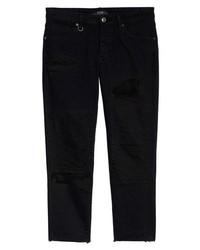 Neuw Lou Distressed Skinny Fit Jeans