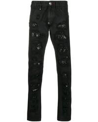 Philipp Plein Milano Cut Destroyed Jeans