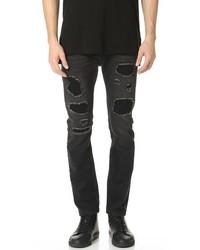 Helmut Lang Mr 87 Destroyed Denim Jeans