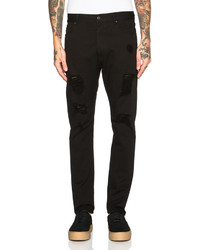 Palm Angels Regular Fit Ripped Jeans