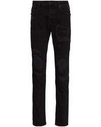 True Religion Rocco Distressed Slim Fit Jeans