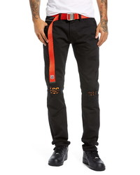 Cult of Individuality Rocker Ripped Slim Fit Jeans