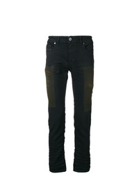 897ddddb906 Men s Black Ripped Jeans by Diesel Black Gold