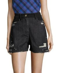 Public School Thana Distressed Shorts
