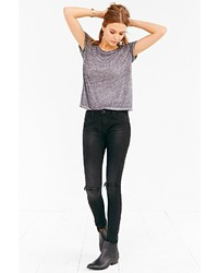 Zoe Karssen Ankle Slim Fit Jean Rip And Roll