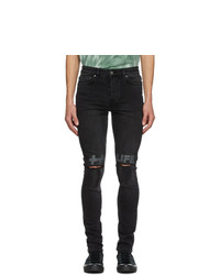Ksubi Black Chitch Krow Kross Jeans