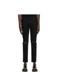 Moussy Vintage Black Mvm Birds Skinny Jeans