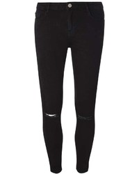 Black Rip Darcy Ankle Grazer Jeans