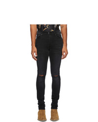 Amiri Black Shotgun Jeans