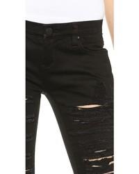 Blank Denim Ripped Skinny Jeans