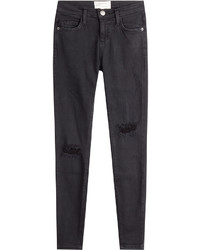 Current/Elliott Skinny Distressed Jeans