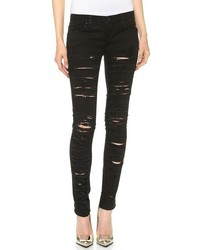 Denim ripped skinny jeans medium 165492